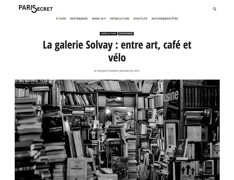 Article - Galerie Solvay - Paris Secret - 28 janvier 19 - web