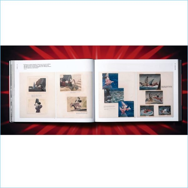 The Walt Disney Film Archives, THE ANIMATED MOVIES, 1921-1968 - TASCHEN